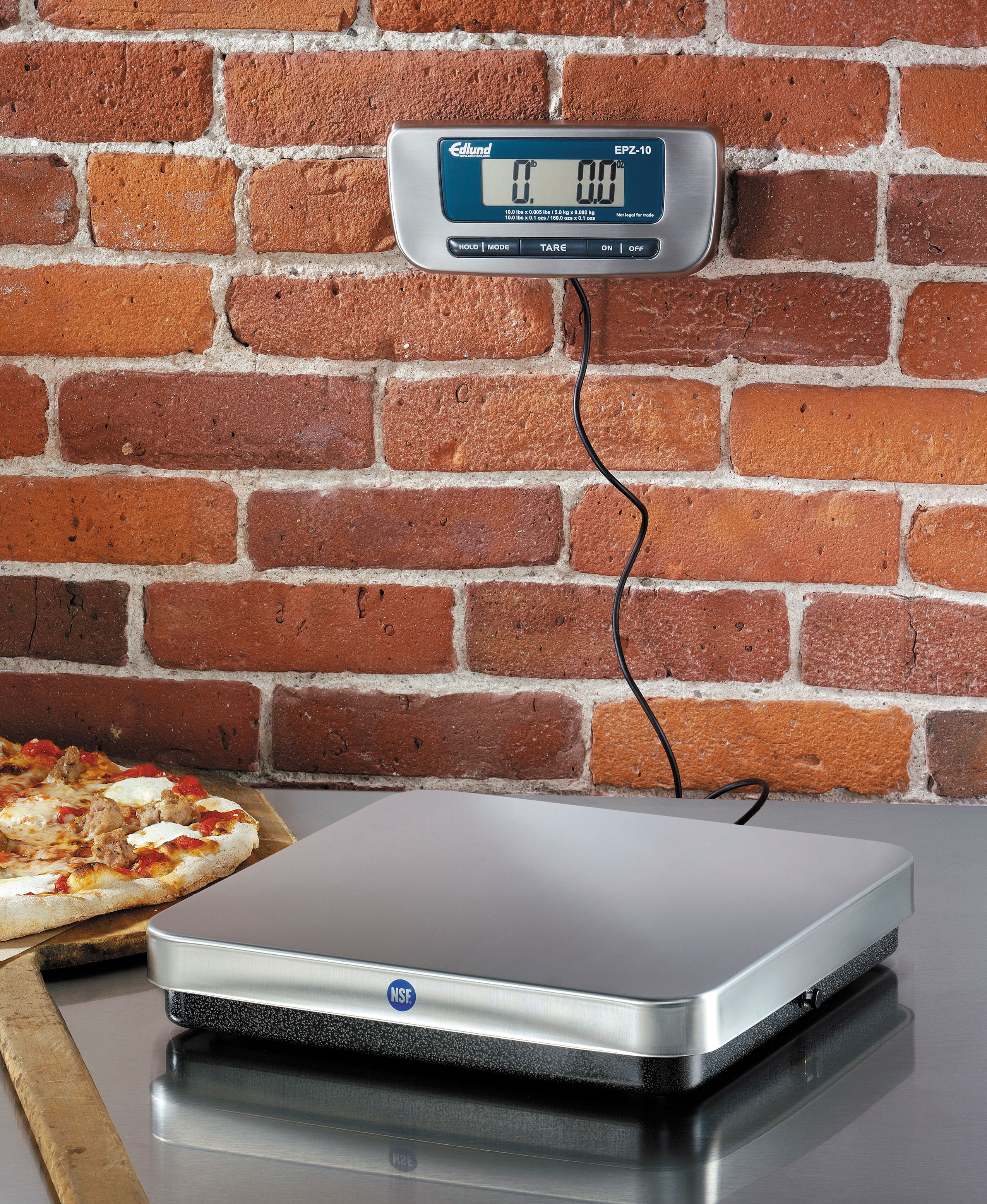 nsf certified digital pizza scales