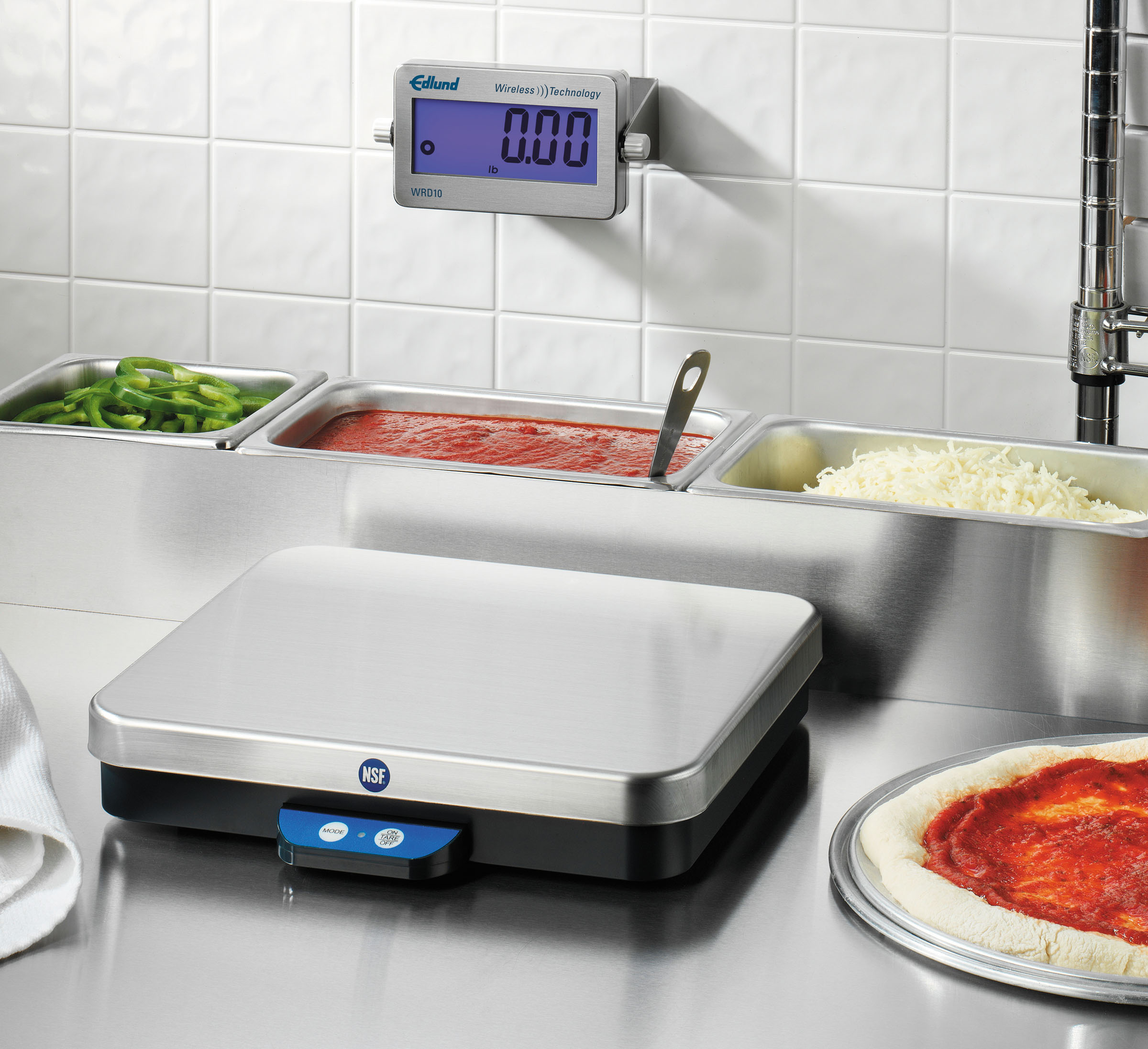 edlund wireless technology pizza specialty scales