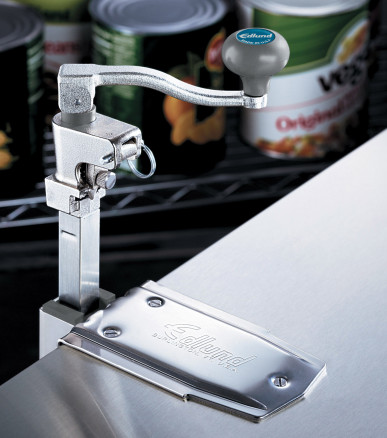 Can Opener Manual Model G-2S Manual Can Opener Enhanced performance with welded stainless steel shaft