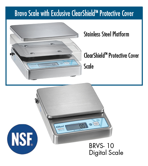 NEW! BRVS-10 Digital Portion Scale | Edlund